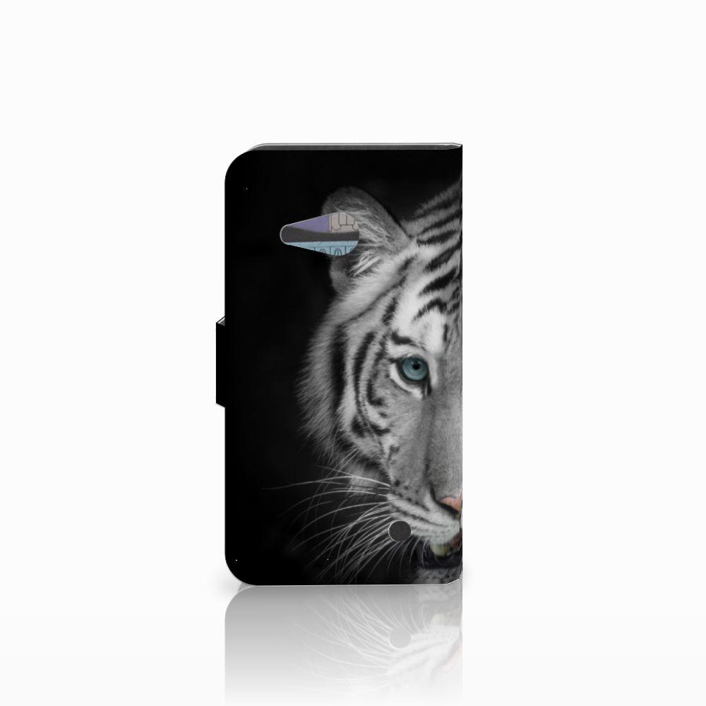Microsoft Lumia 550 Telefoonhoesje met Pasjes Tijger