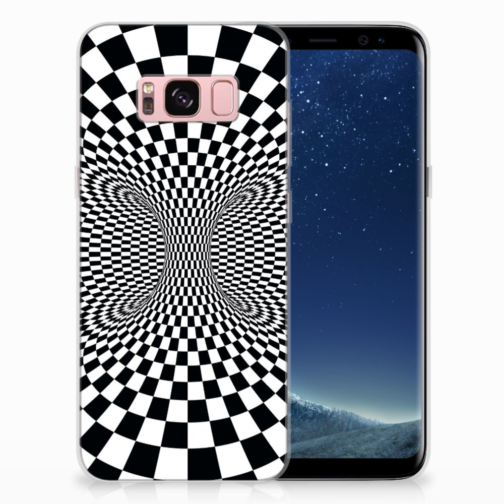 Samsung Galaxy S8 TPU Hoesje Design Illusie