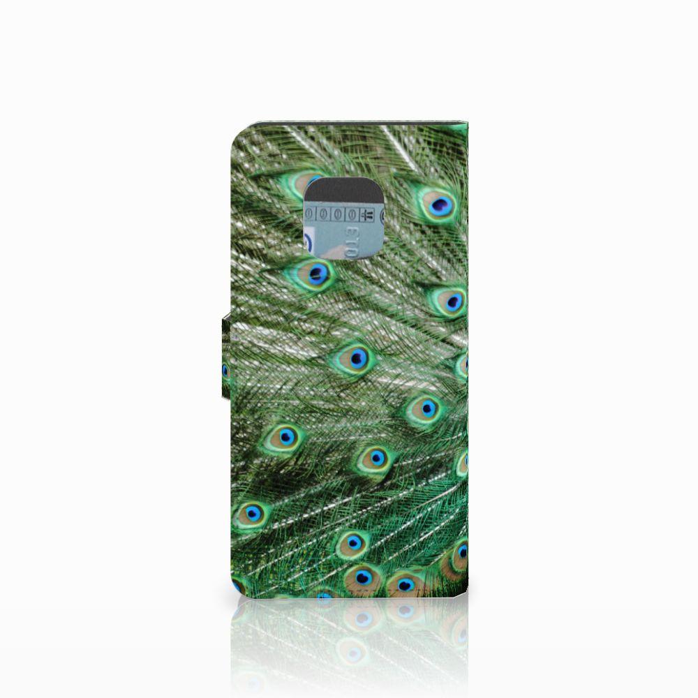 Huawei Mate 20 Pro Telefoonhoesje met Pasjes Pauw
