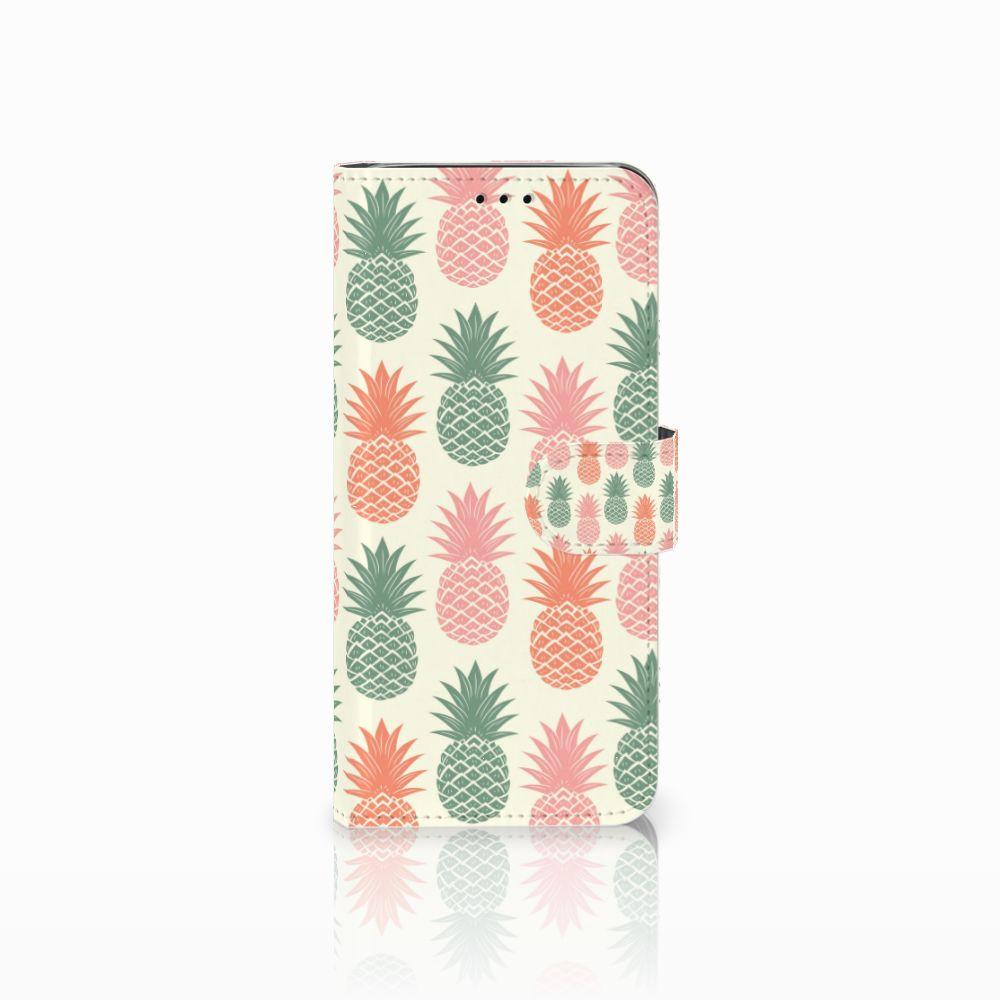 Samsung Galaxy J6 2018 Boekhoesje Design Ananas