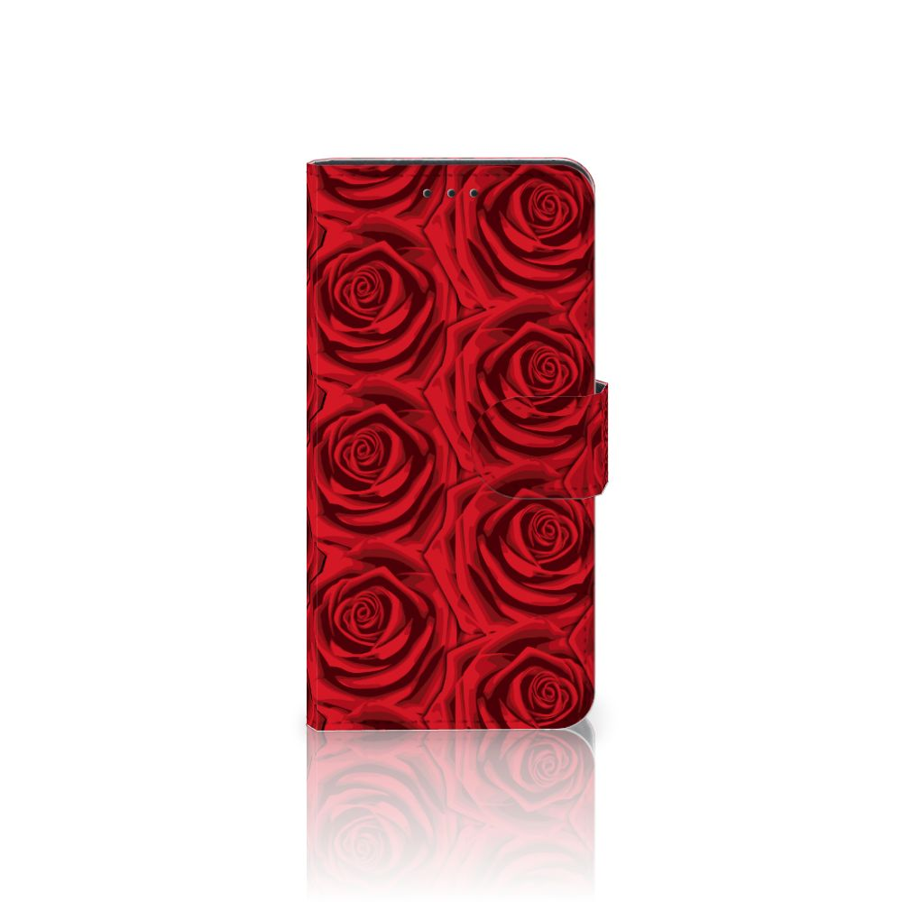 Samsung Galaxy J5 2017 Hoesje Red Roses