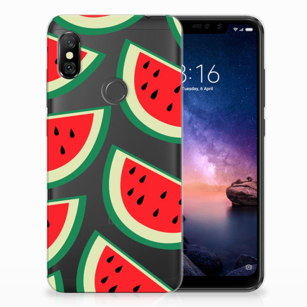 Xiaomi Redmi Note 6 Pro Siliconen Case Watermelons