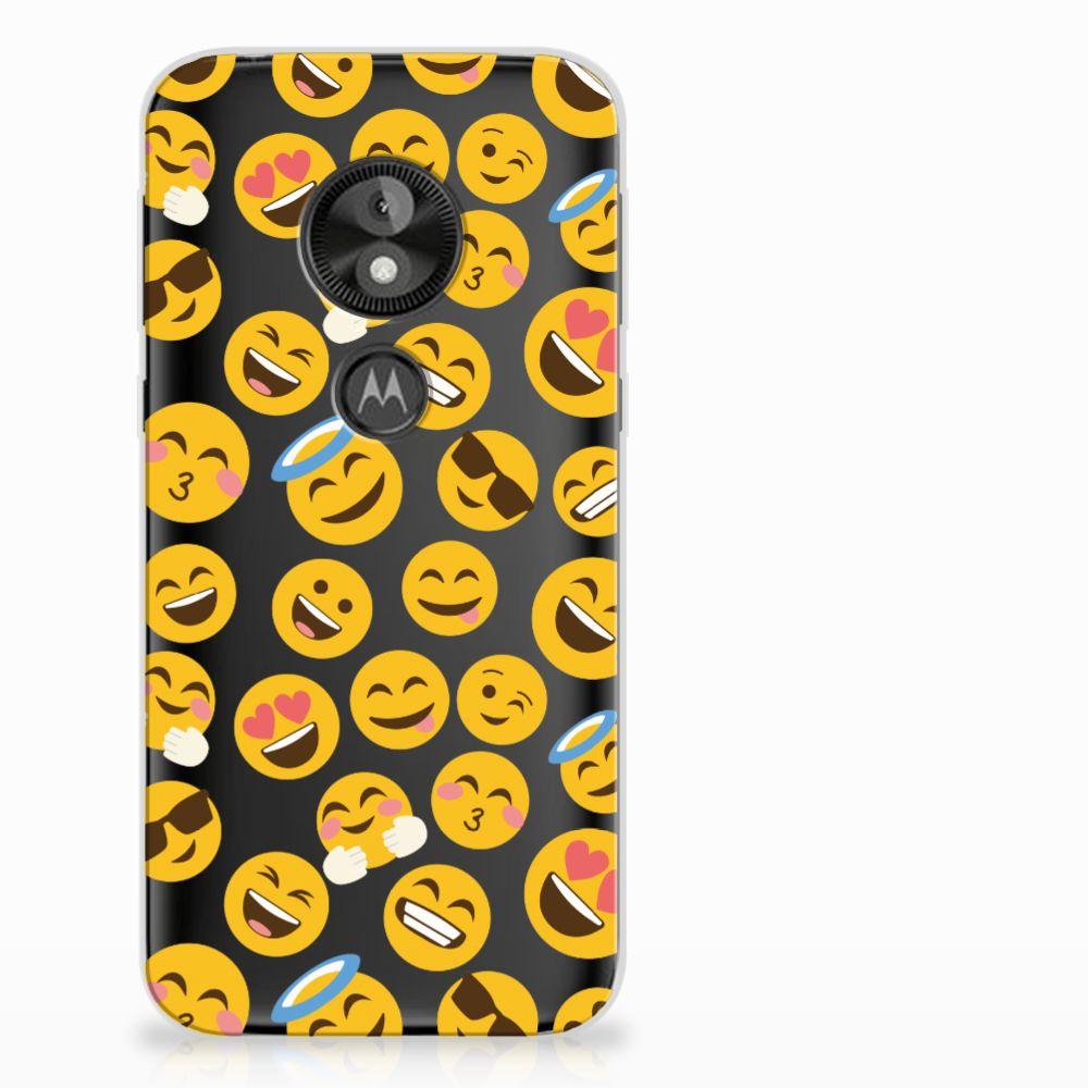Motorola Moto E5 Play TPU Hoesje Design Emoji