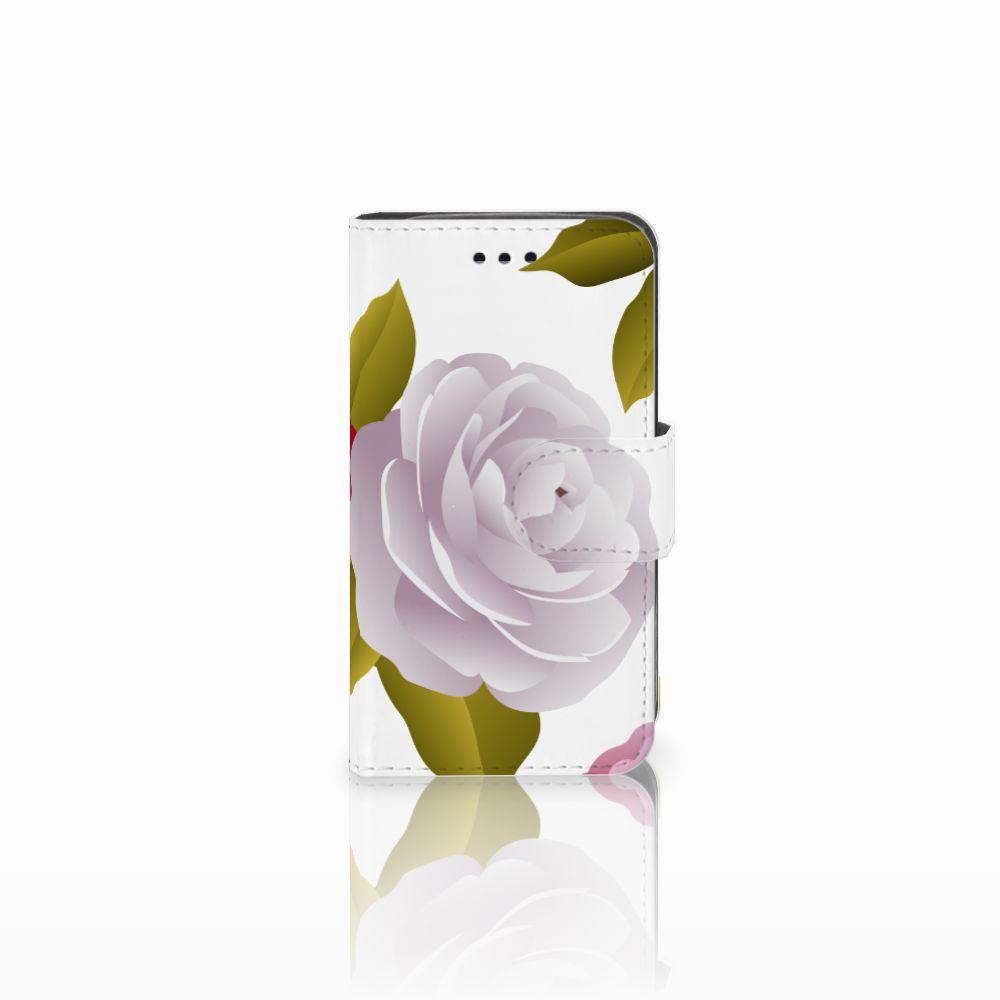 Samsung Galaxy Trend 2 Uniek Boekhoesje Roses