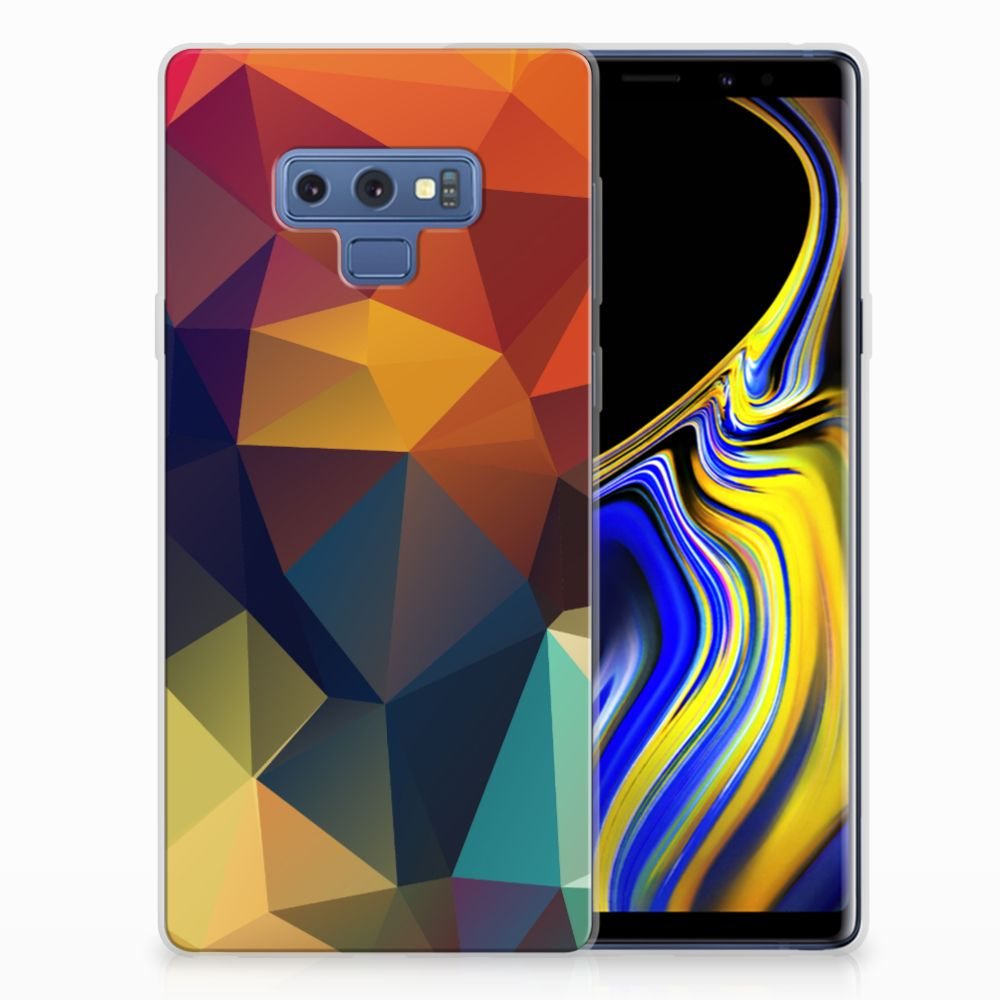 Samsung Galaxy Note 9 TPU Hoesje Polygon Color