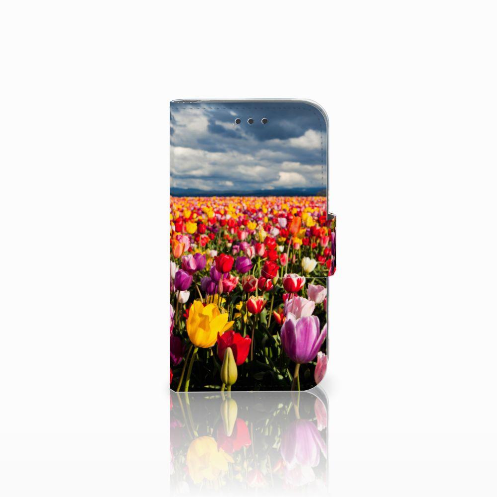 Samsung Galaxy Core Prime Uniek Boekhoesje Tulpen