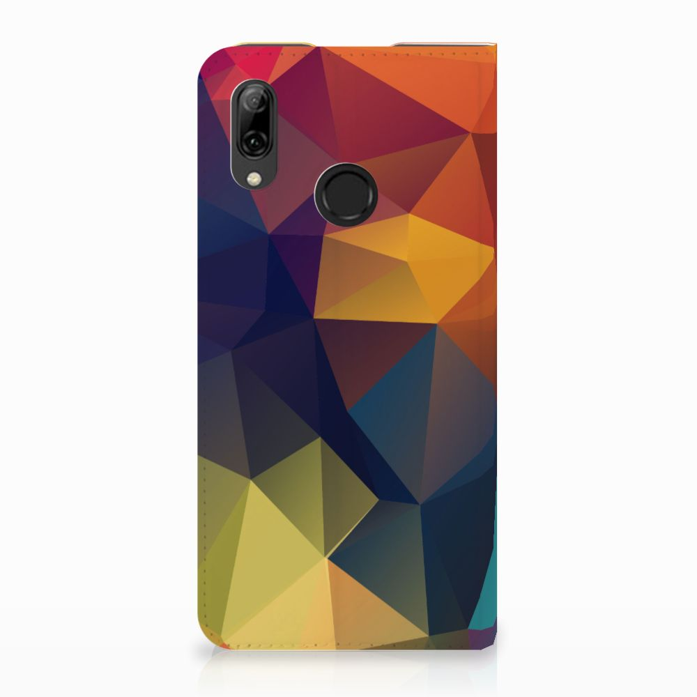 Huawei P Smart (2019) Stand Case Polygon Color