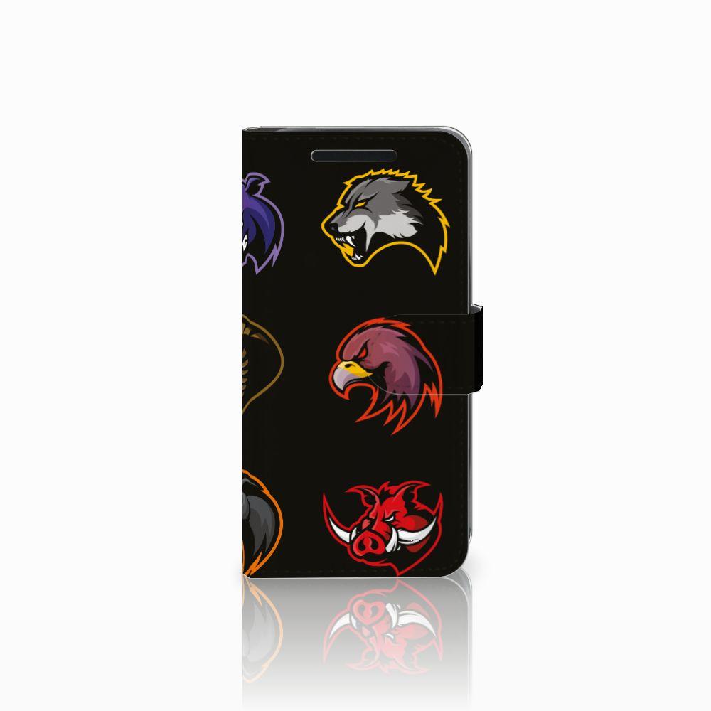 HTC One M9 Uniek Boekhoesje Cartoon