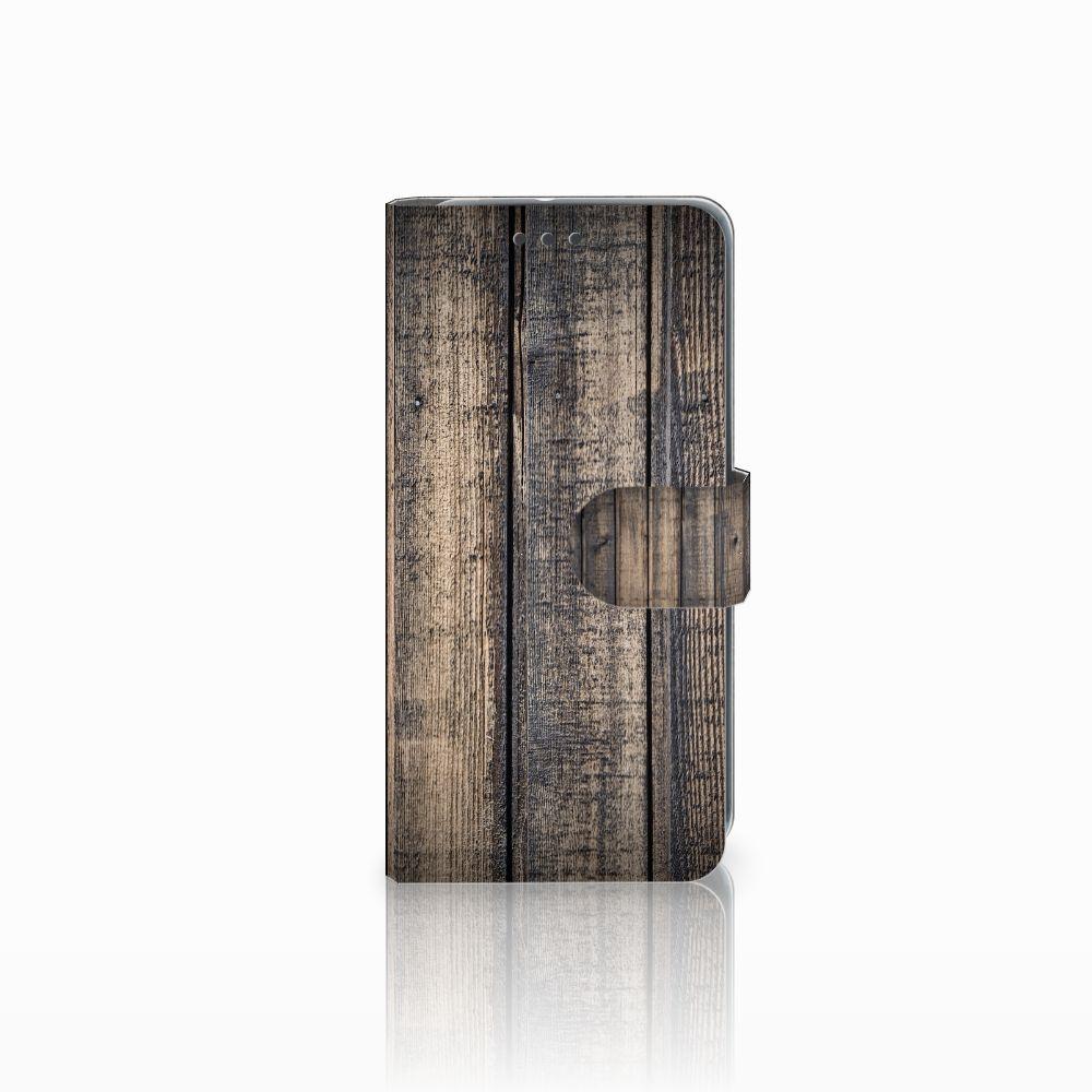 HTC U11 Life Boekhoesje Design Steigerhout
