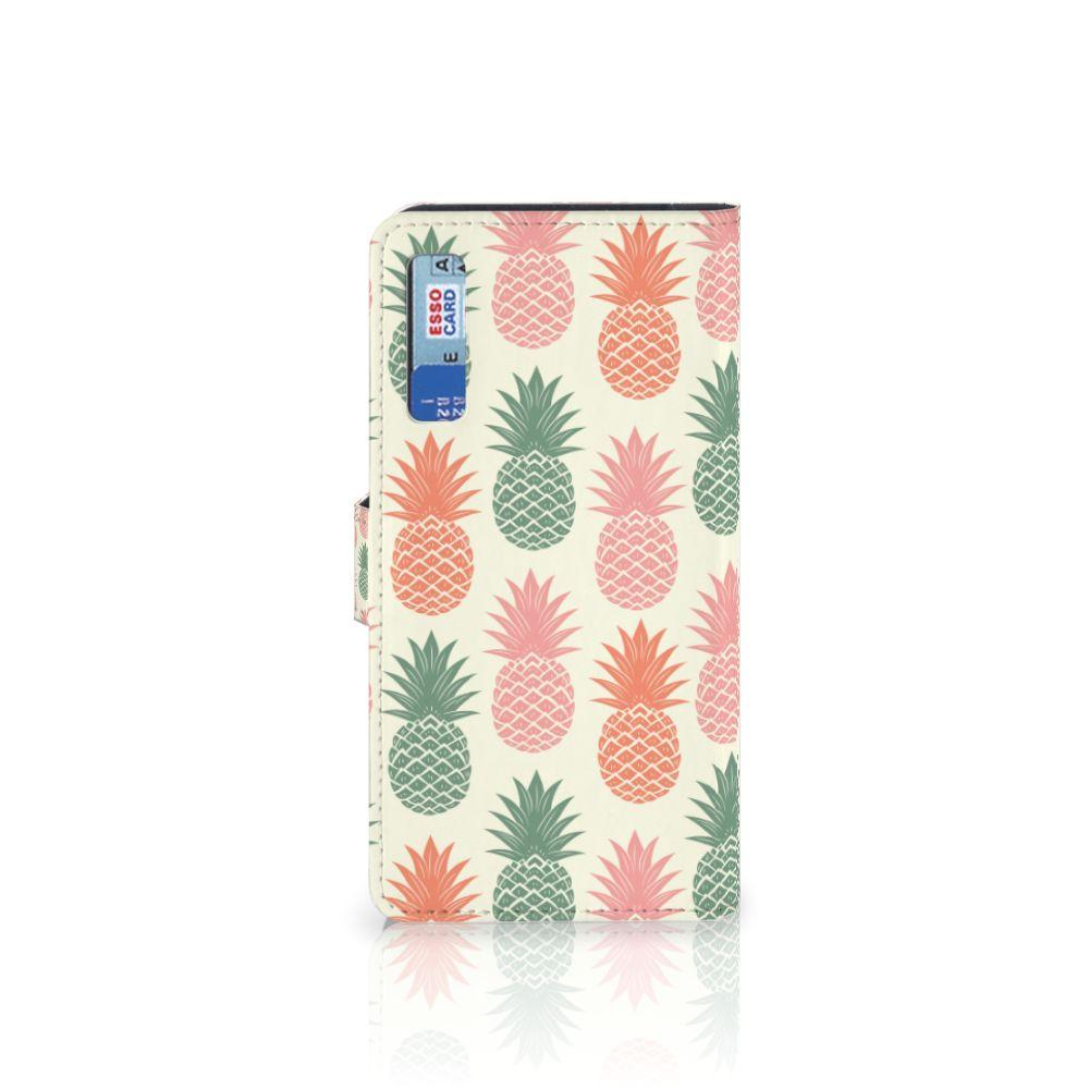 Samsung Galaxy A7 (2018) Book Cover Ananas