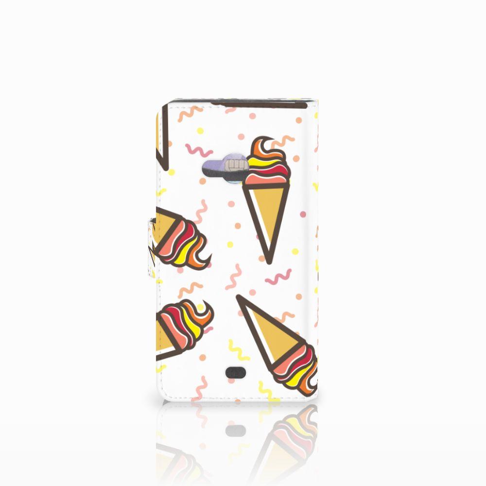 Microsoft Lumia 535 Book Cover Icecream