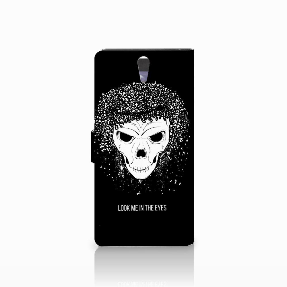 Telefoonhoesje met Naam Sony Xperia C5 Ultra Skull Hair