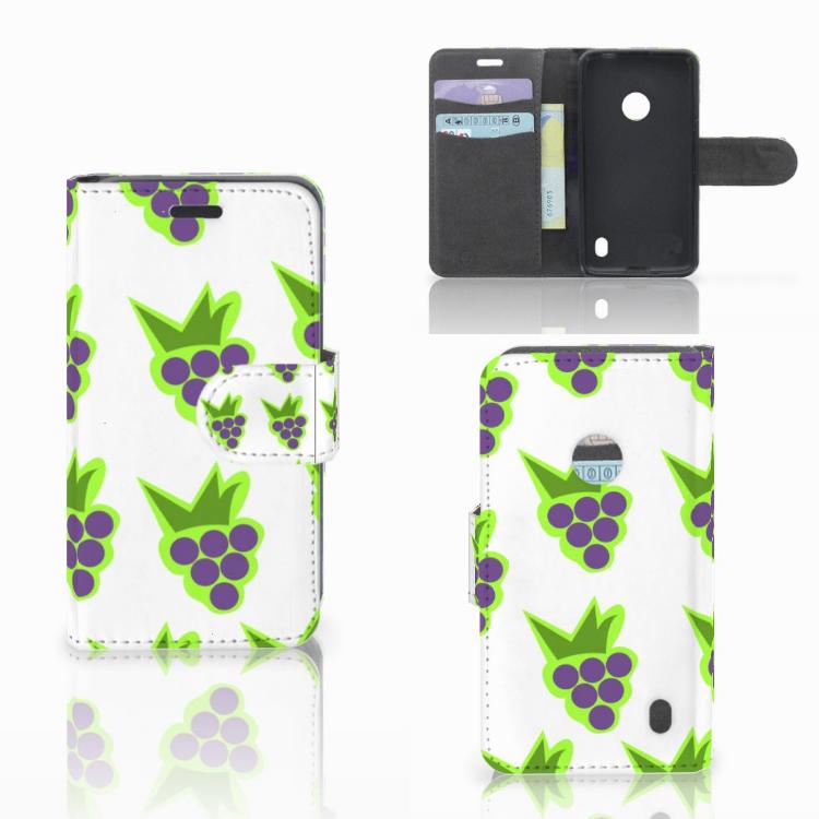 Nokia Lumia 520 Book Cover Druiven