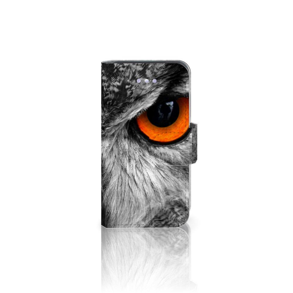 Apple iPhone 4 | 4S Telefoonhoesje met Pasjes Uil