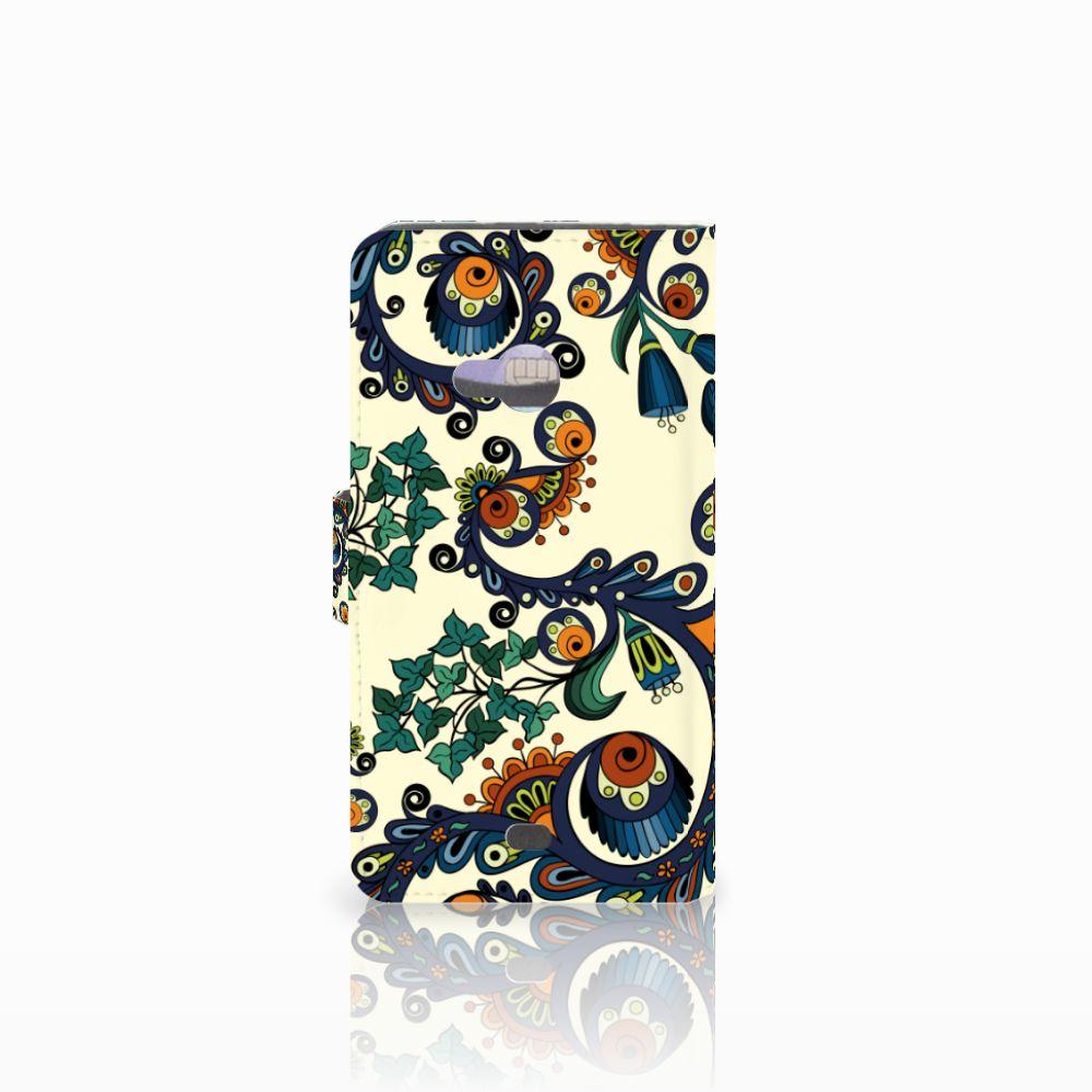 Wallet Case Microsoft Lumia 535 Barok Flower