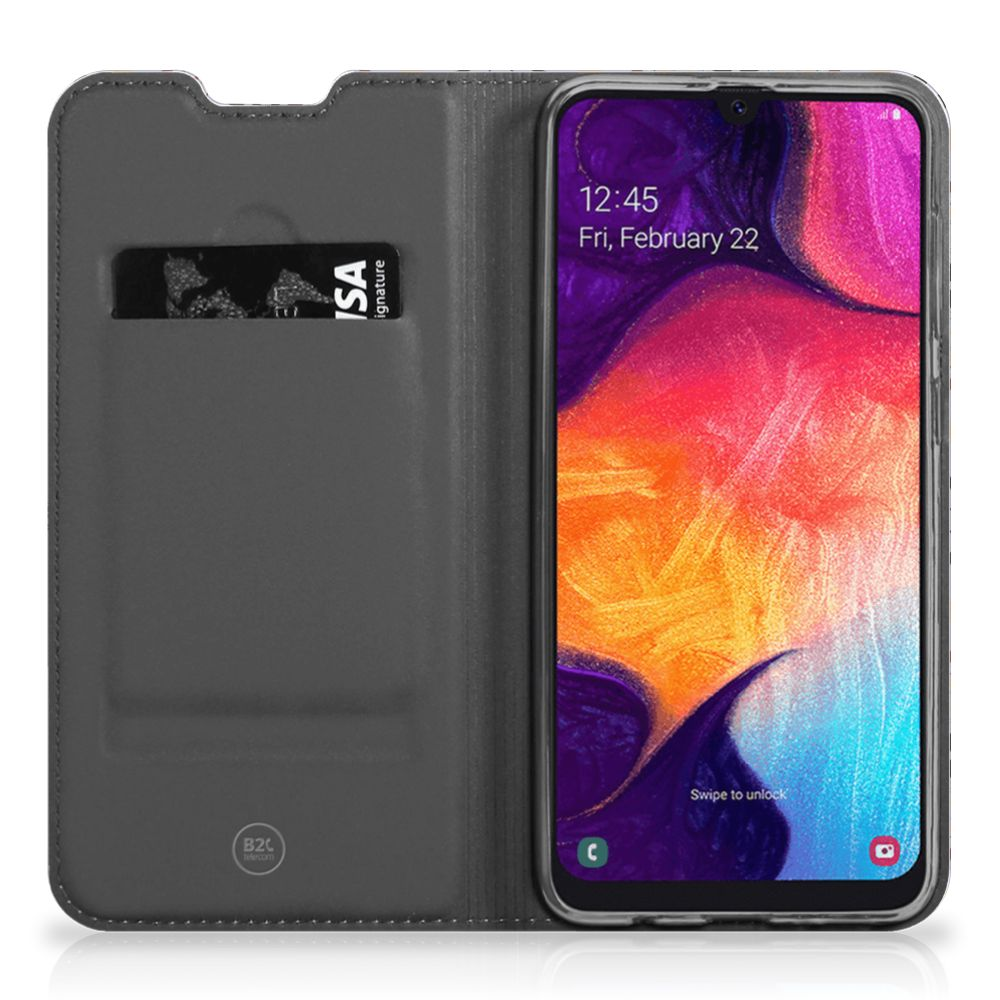 Samsung Galaxy A50 Standcase Flower Tiles