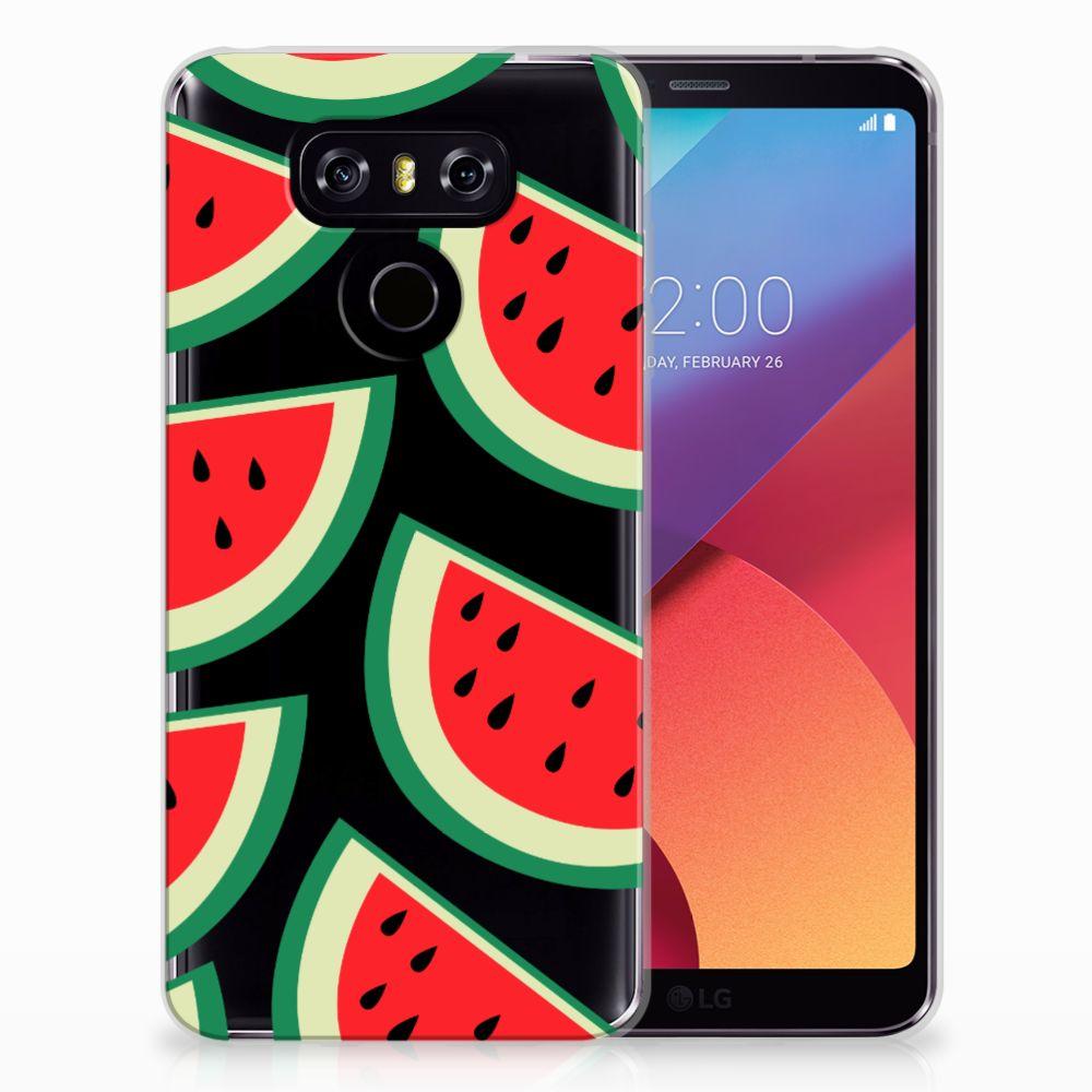 LG G6 Siliconen Case Watermelons