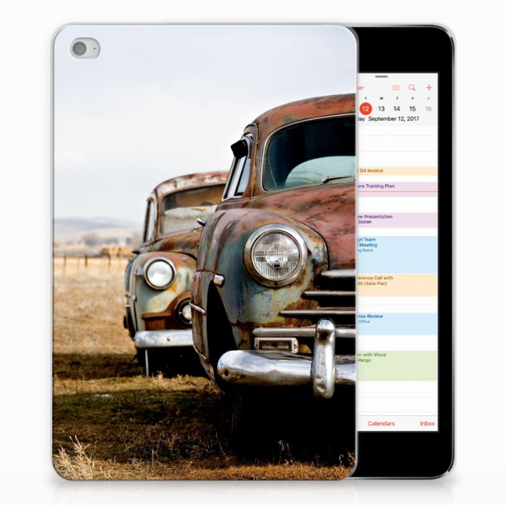 Apple iPad Mini 4 | Mini 5 (2019) Tablet Backcover met foto Vintage Auto