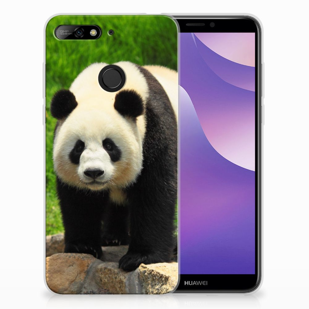 Huawei Y6 (2018) TPU Hoesje Design Panda