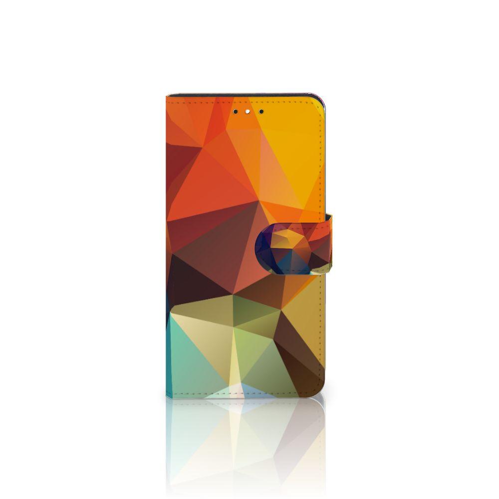 Motorola Moto G5S Plus Bookcase Polygon Color