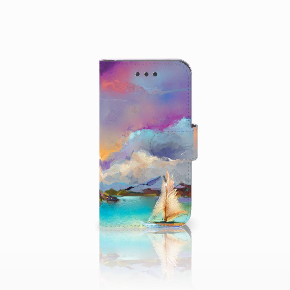 Samsung Galaxy Core 2 Uniek Boekhoesje Boat