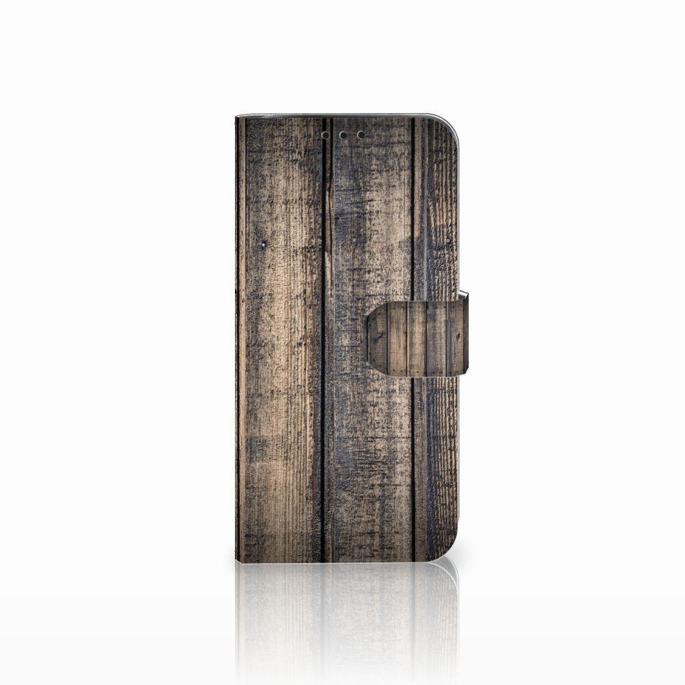Xiaomi Pocophone F1 Boekhoesje Design Steigerhout