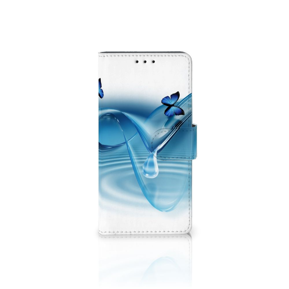Samsung Galaxy J5 2016 Telefoonhoesje met Pasjes Vlinders
