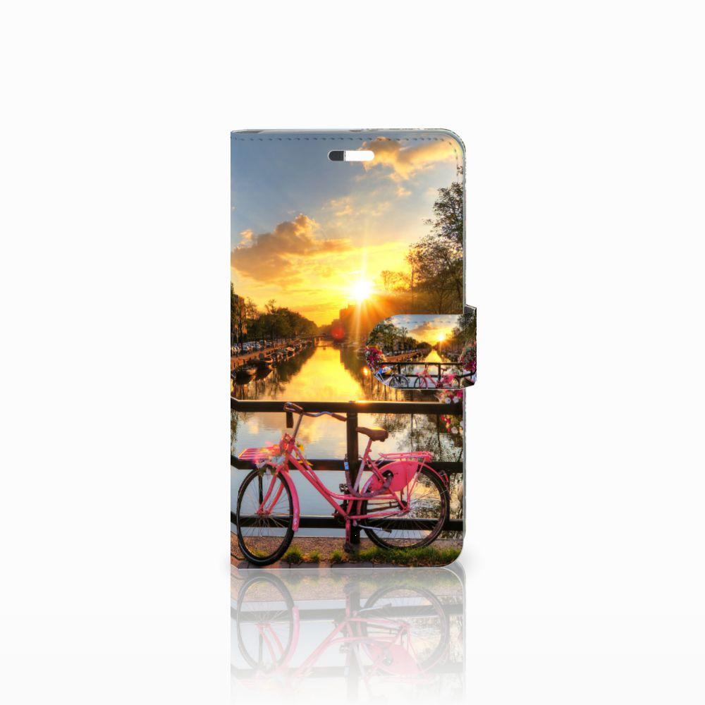 Huawei P9 Plus Uniek Boekhoesje Amsterdamse Grachten