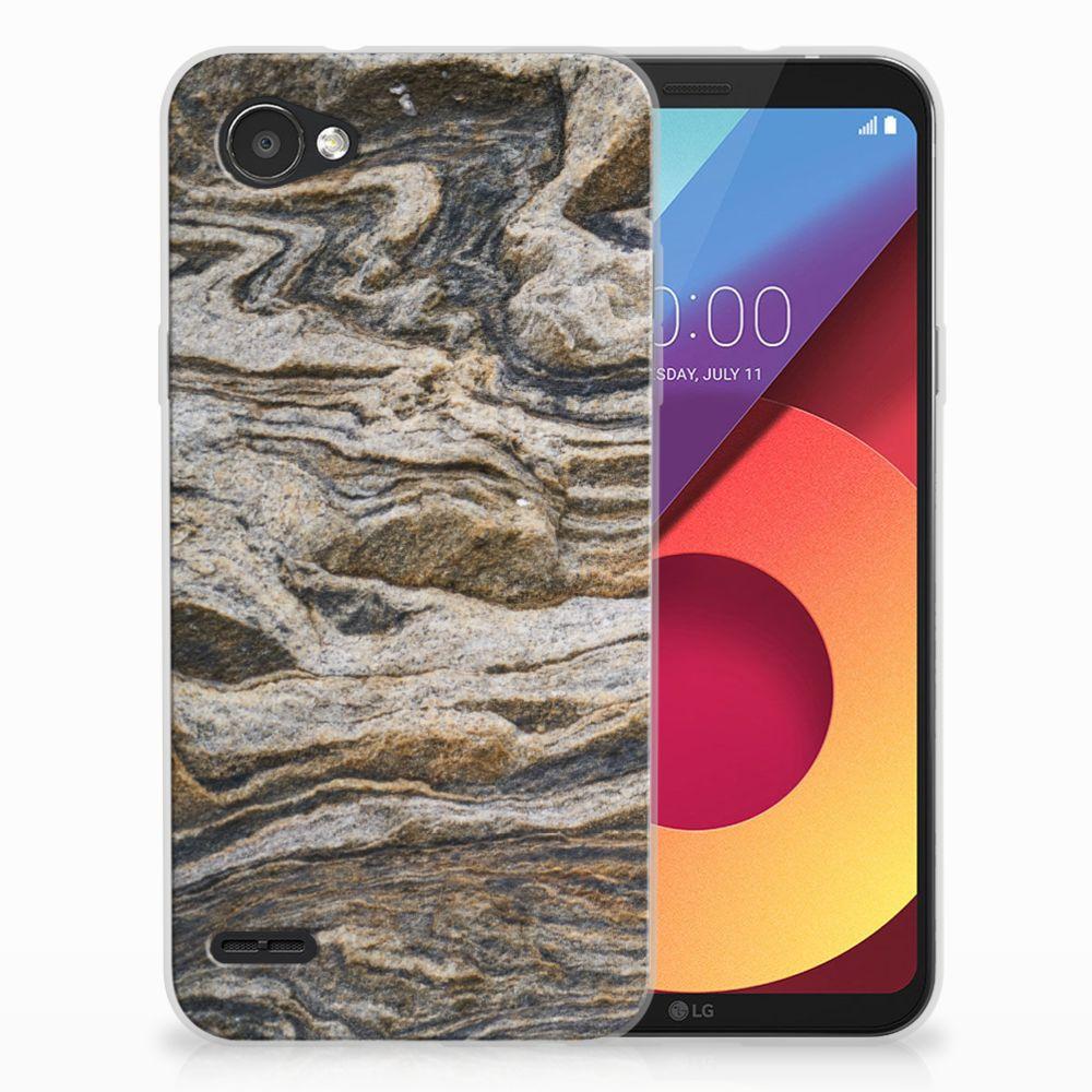 LG Q6 | LG Q6 Plus TPU Hoesje Design Steen
