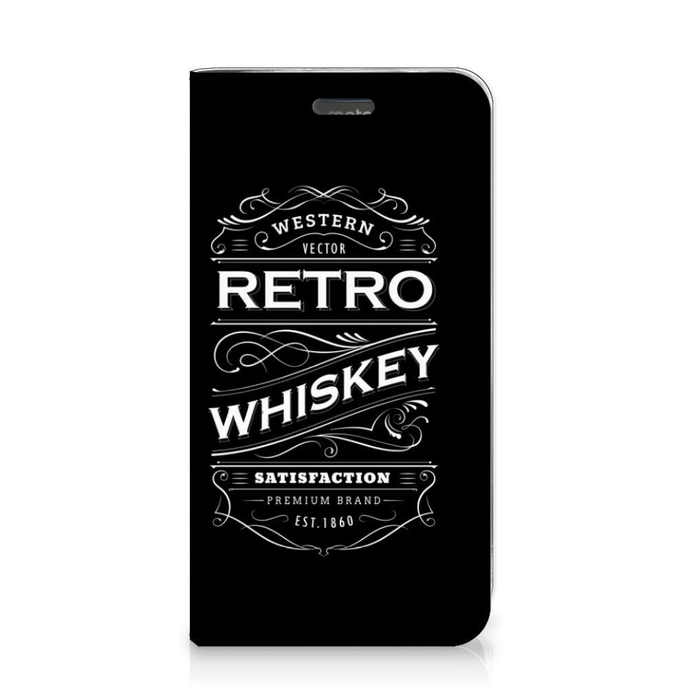Motorola Moto C Plus Flip Style Cover Whiskey