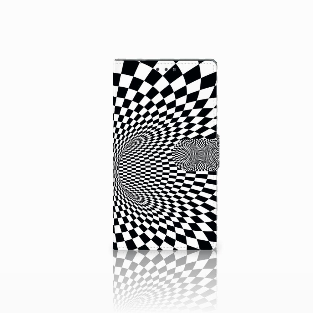 Samsung Galaxy Note 4 Boekhoesje Design Illusie
