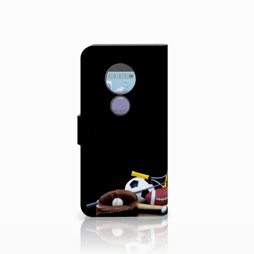 Motorola Moto G6 Play Wallet Case met Pasjes Sports