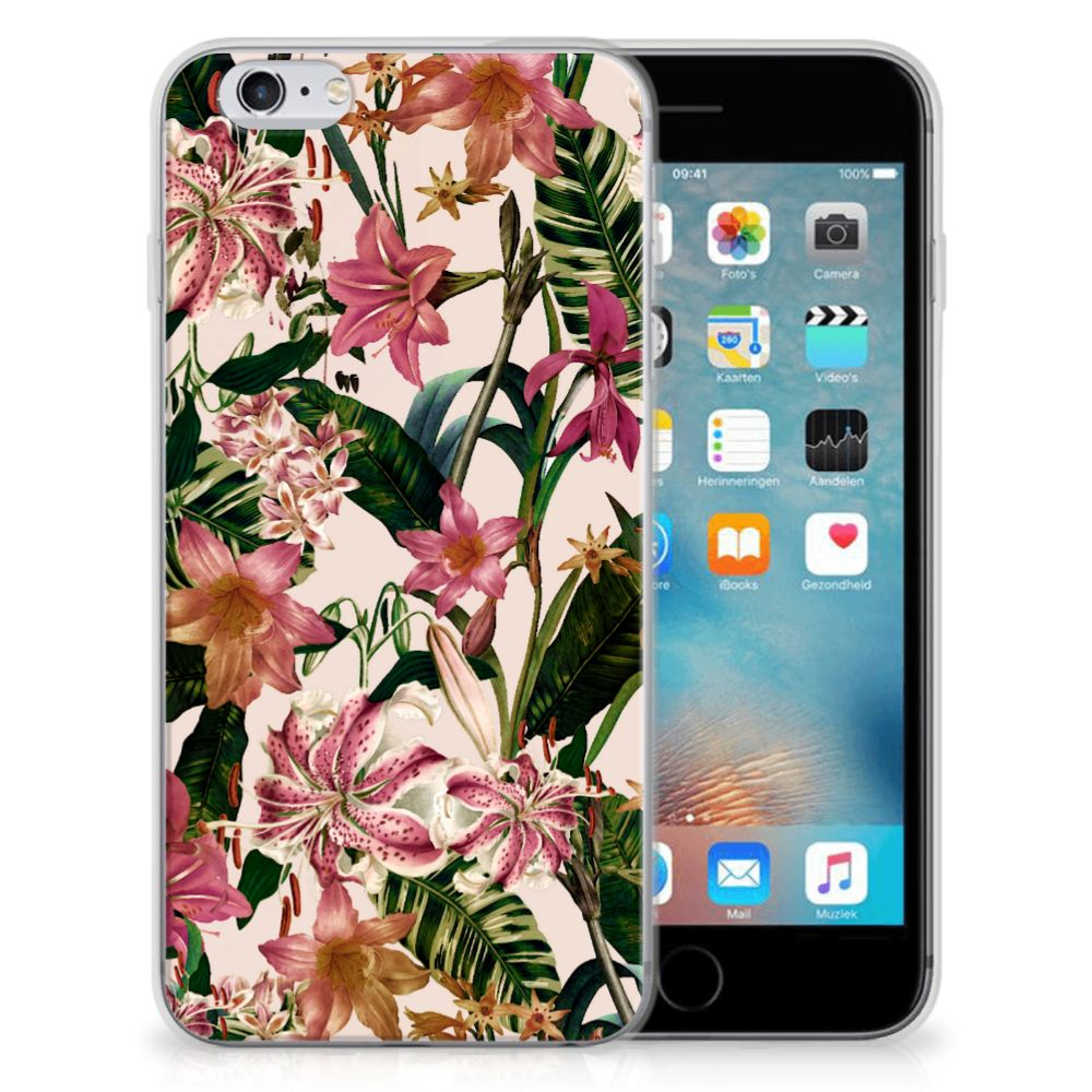 Apple iPhone 6 | 6s TPU Case Flowers