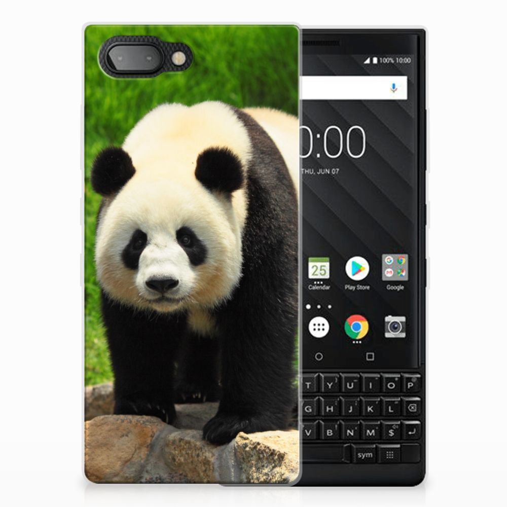 BlackBerry Key2 TPU Hoesje Panda
