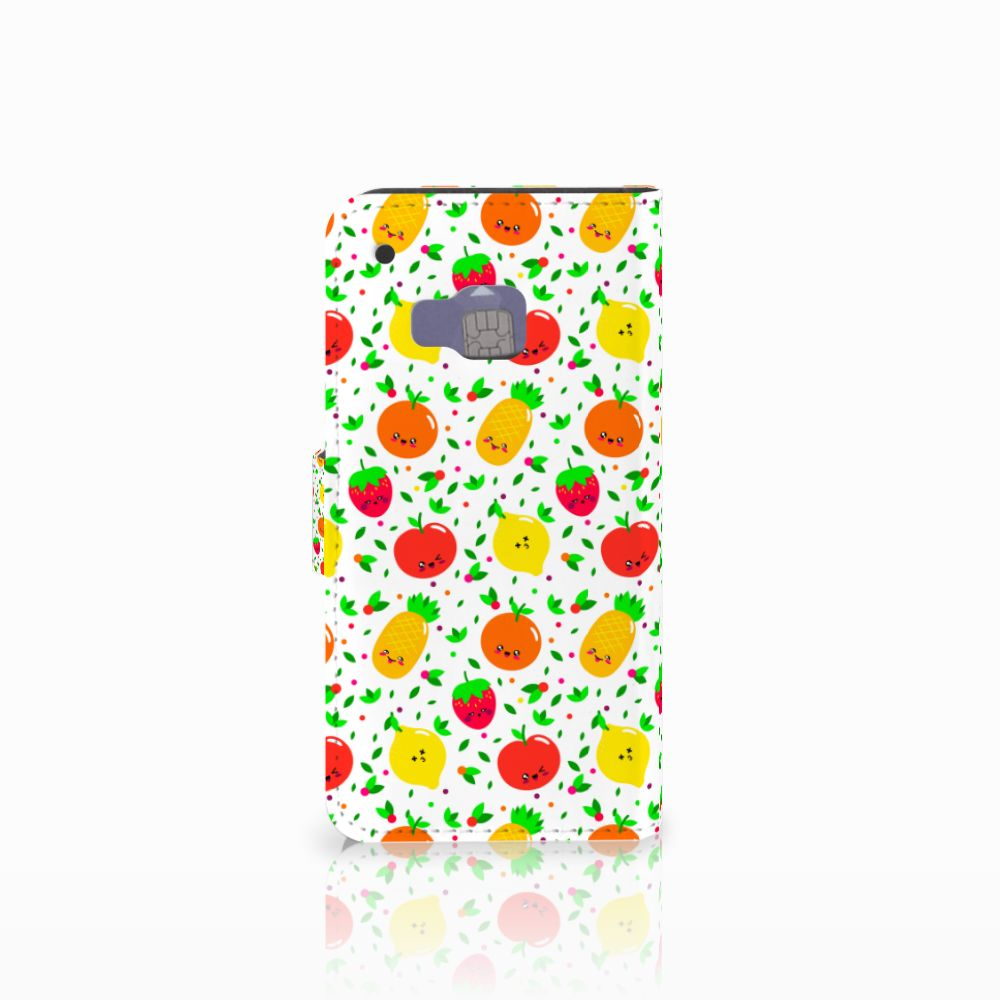 HTC One M9 Book Cover Fruits