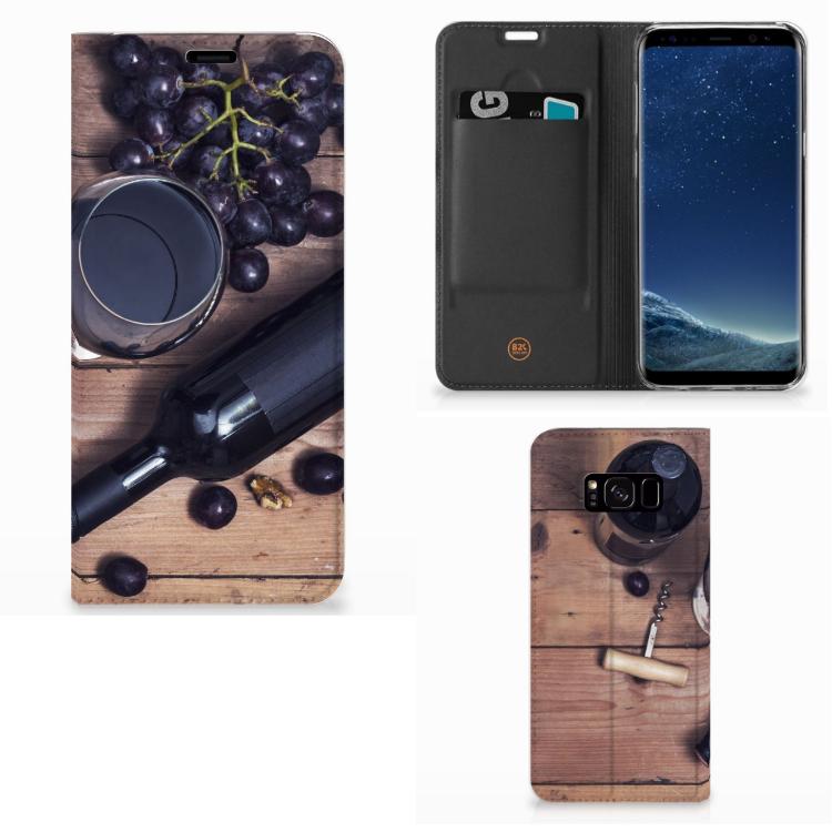 Samsung Galaxy S8 Plus Flip Style Cover Wijn