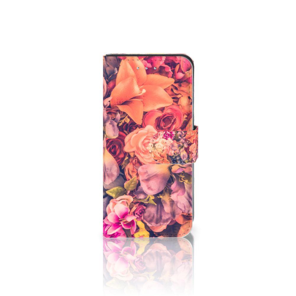 Samsung Galaxy S6 Edge Boekhoesje Design Bosje Bloemen