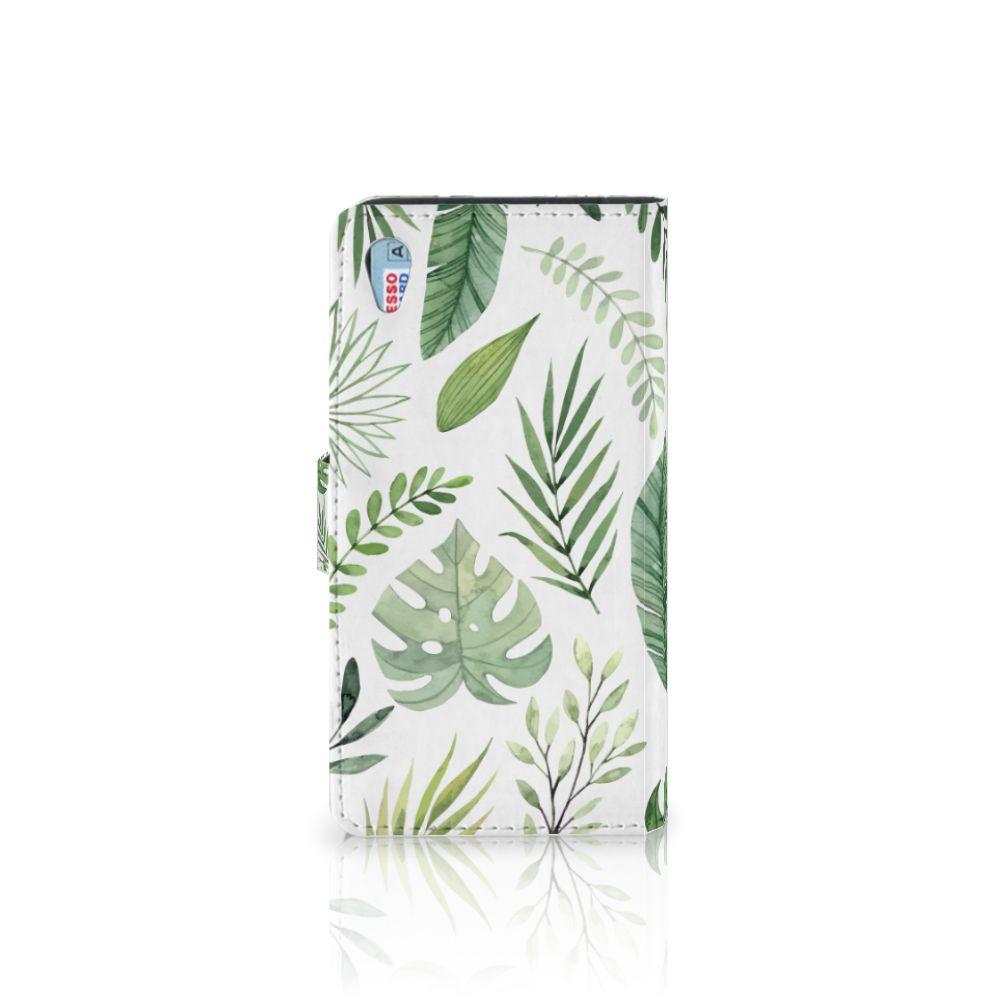 Sony Xperia Z3 Hoesje Leaves