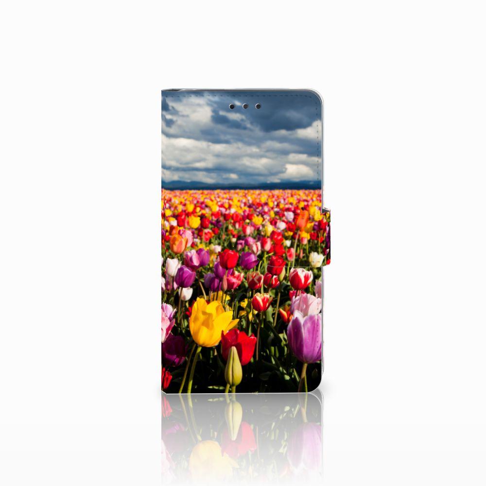 LG G4 Uniek Boekhoesje Tulpen