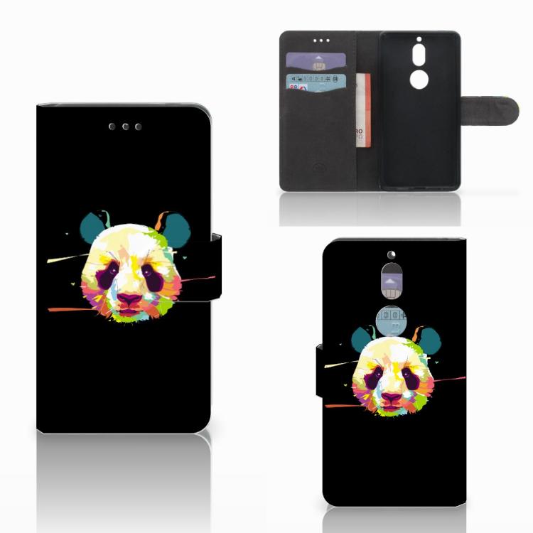 Nokia 7 Leuk Hoesje Panda Color