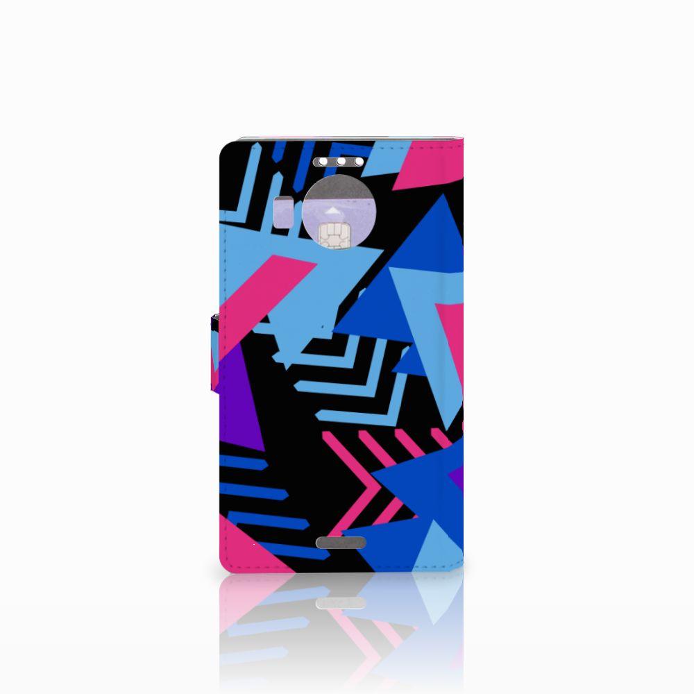 Microsoft Lumia 950 XL Bookcase Funky Triangle