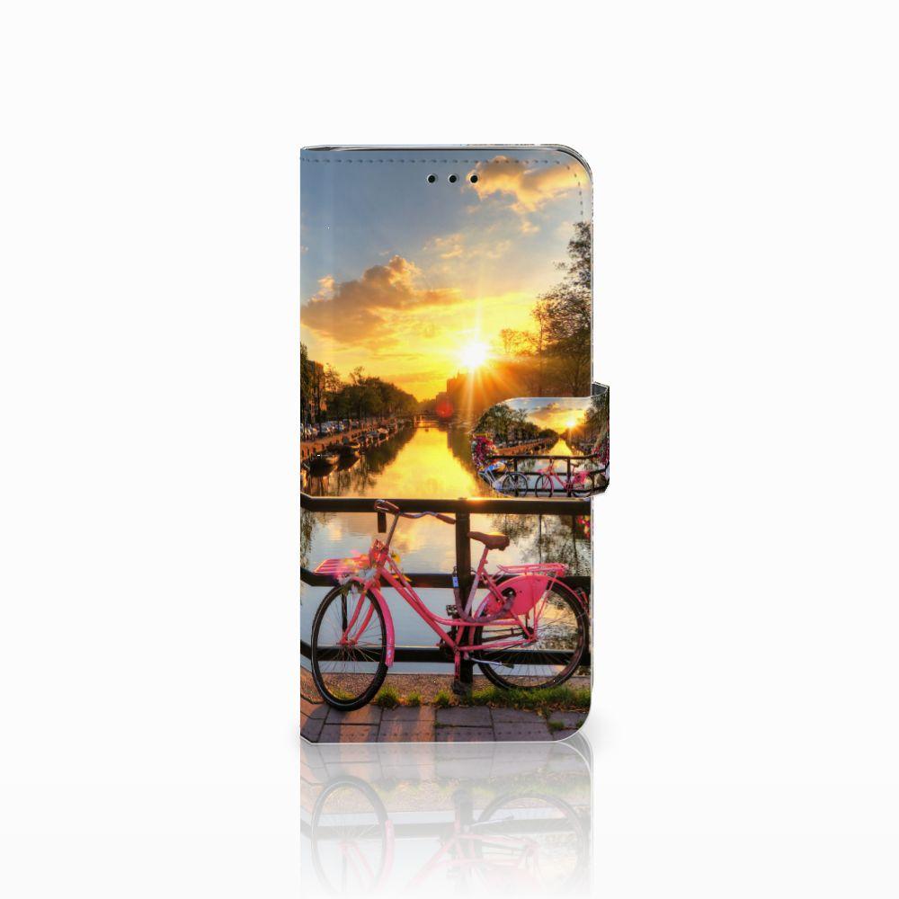 Samsung Galaxy J6 2018 Uniek Boekhoesje Amsterdamse Grachten