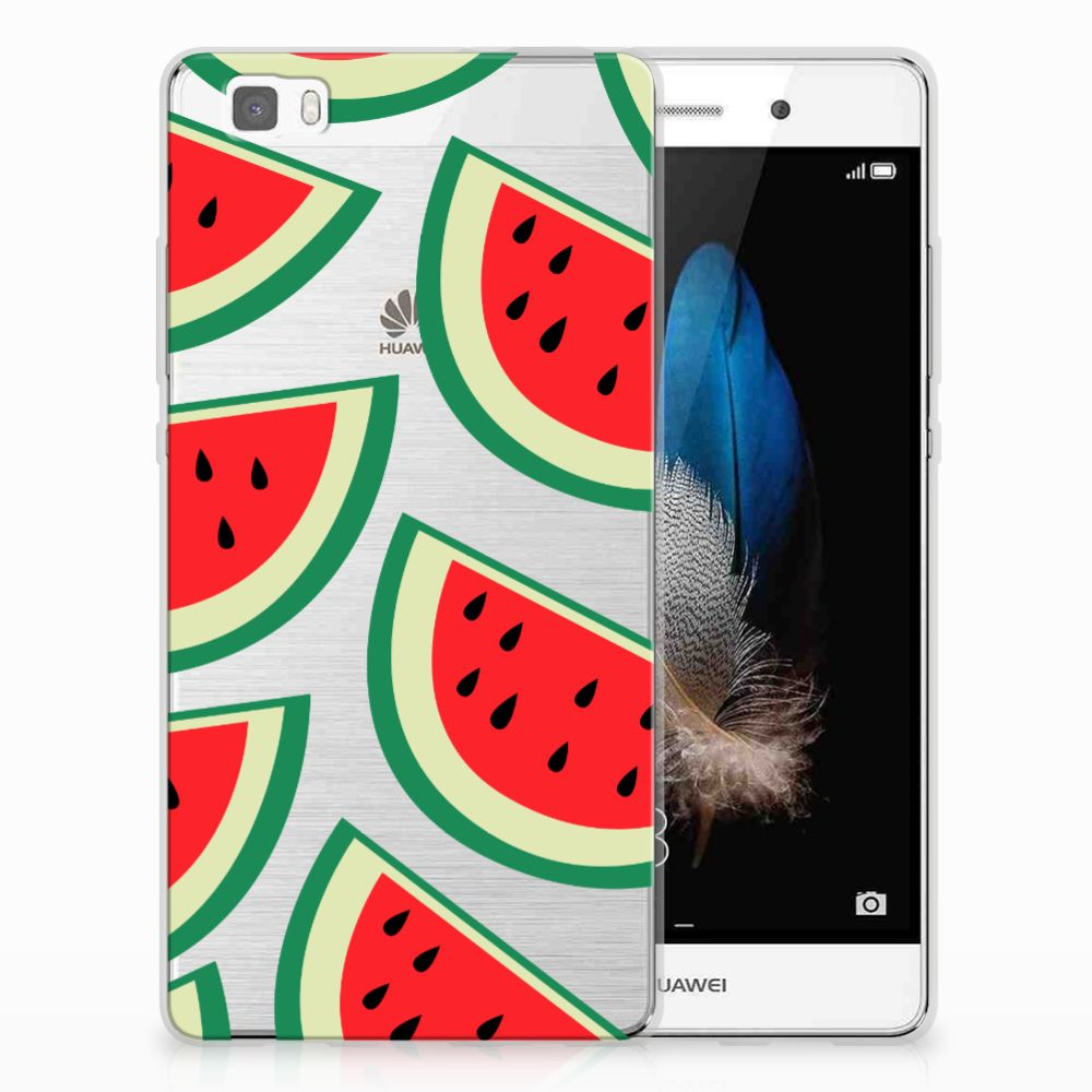 Huawei Ascend P8 Lite Siliconen Case Watermelons