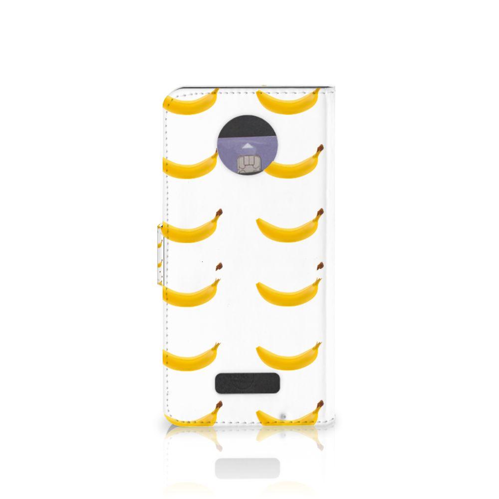 Motorola Moto Z Book Cover Banana