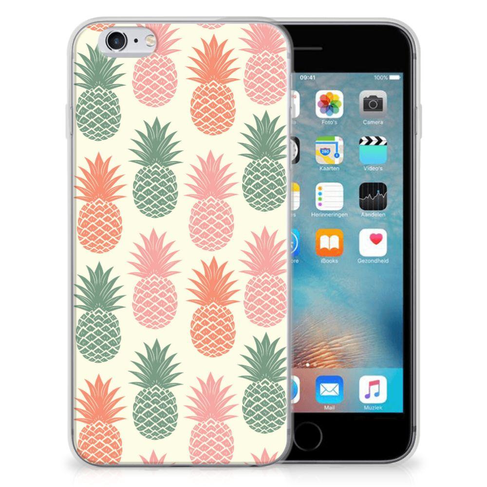 Apple iPhone 6 | 6s Siliconen Case Ananas