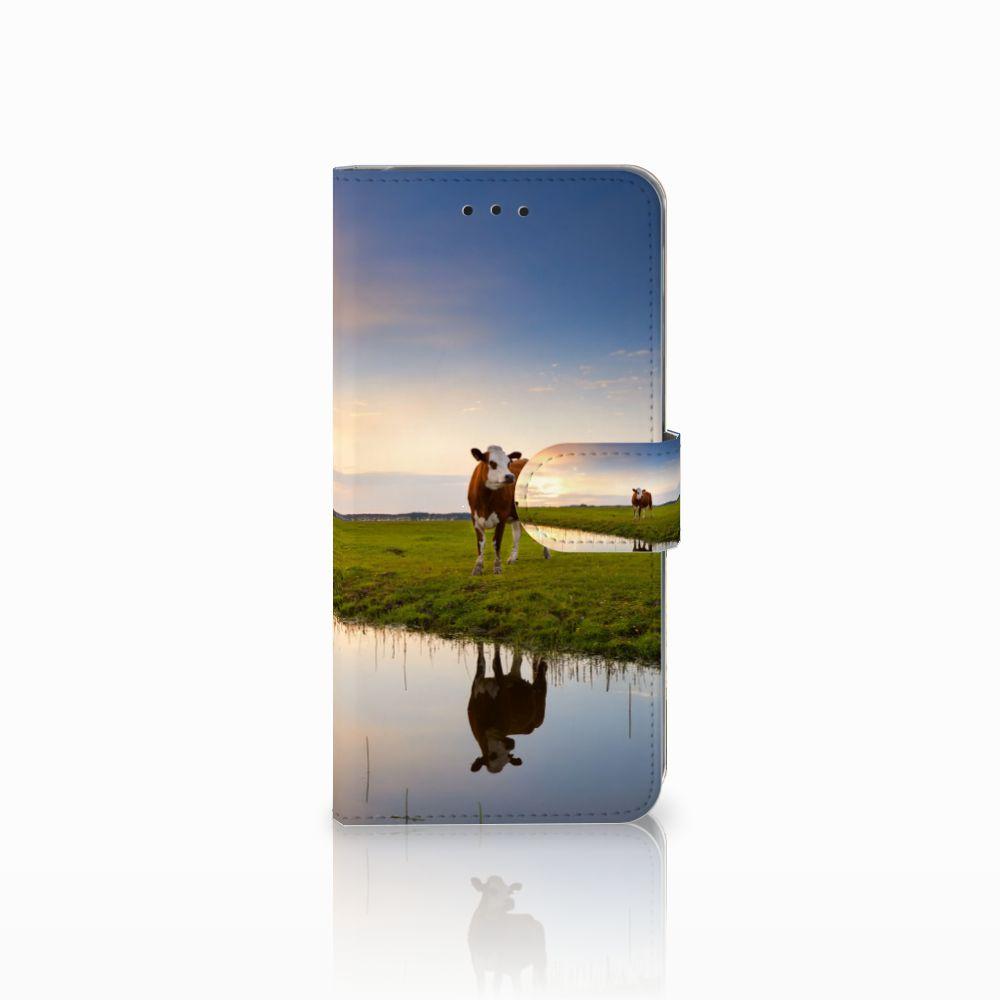Samsung Galaxy A6 Plus 2018 Boekhoesje Design Koe