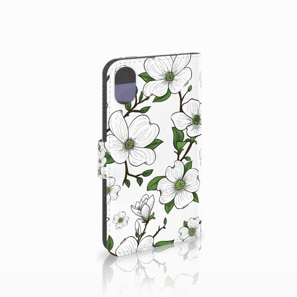 Apple iPhone X | Xs Boekhoesje Design Dogwood Flowers