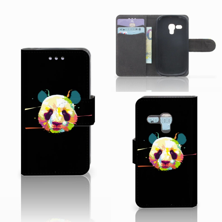 Samsung Galaxy S3 Mini Leuke Hoesje Panda Color