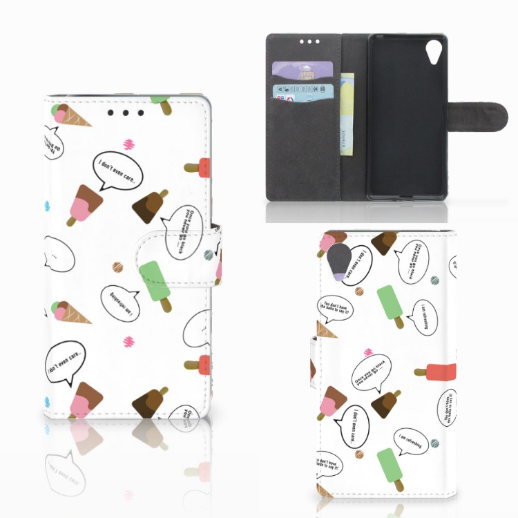 Sony Xperia X Performance Book Cover IJsjes