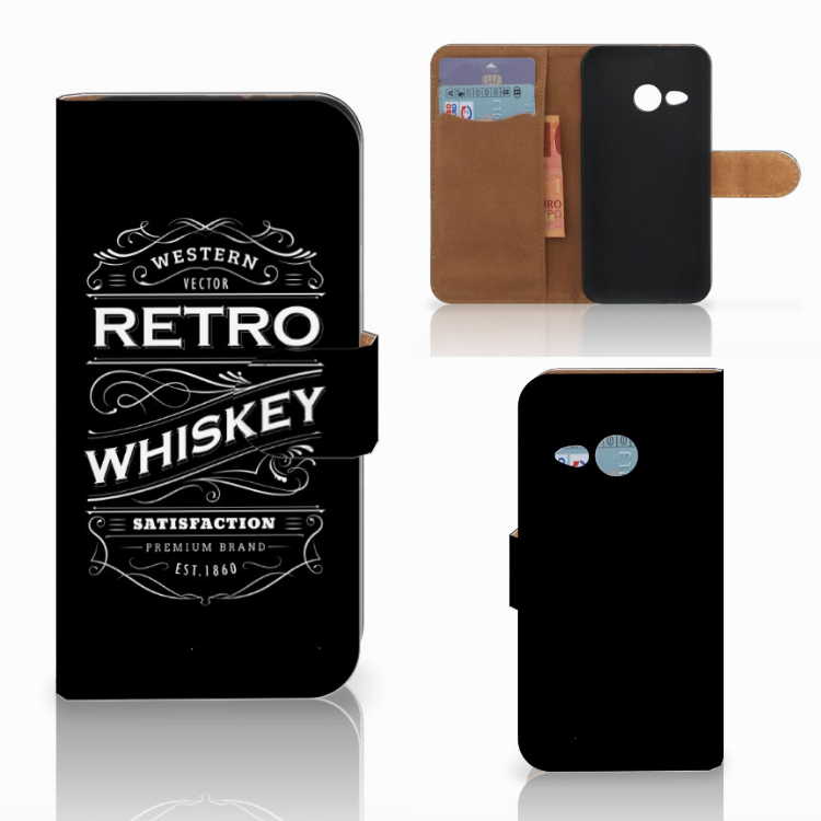 HTC One Mini 2 Book Cover Whiskey